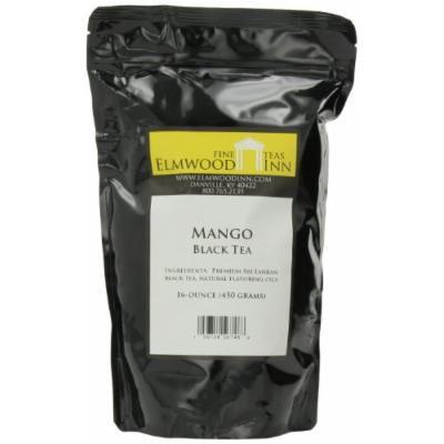 Elmwood Inn Fine Teas, Mango Black Tea, 16-Ounce Pouch
