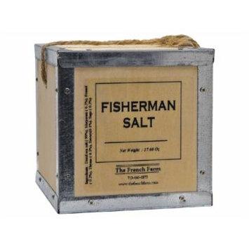 Fisherman Salt Pere Pelletier Salt from France in Wood Box 17.6 oz