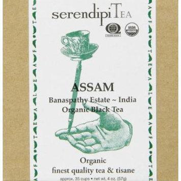 SerendipiTea Assam, Banaspathy Estate ~ India, Organic Black Tea, 4 Ounce Box