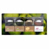 Dkny Delicious 4 Pc Mini Gift Set 4 X 0.24 Oz 7 Ml Edp Women's Perfume New