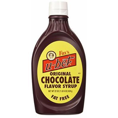 Fox's U-bet 22-oz. Original Chocolate Syrup (Pack of 3)