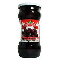 Peru Food Aceituna De Botija Black Olives in Brine 20 Oz.