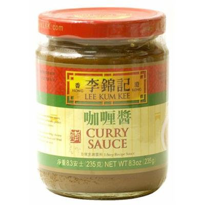 Lee Kum Kee Curry Sauce, 8.3-Ounce Jars (Pack of 4)