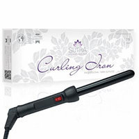 Sutra 19 Mm Curling Iron-Black Or Pink Black