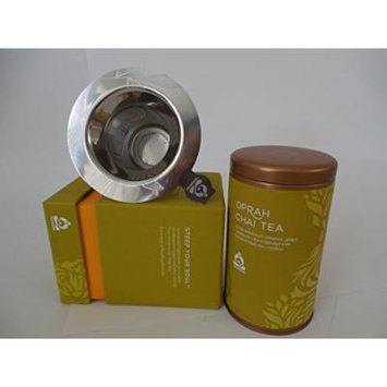 Starbucks Teavana Oprah Chai Tea and Stainless Steel Infuser Set