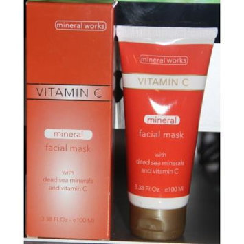 Mineral Works Vitamin C Mineral Facial Mask with Dead Sea Mineral and Vitamin C 3.38 Fl Oz.