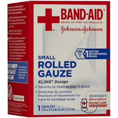 Band-Aid First Aid Covers Kling Rolled Gauze, Small 1 ea Pack of 6
