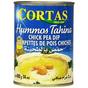 Cortas Hummos Tahini Chick Pea Dip, 14 Ounce