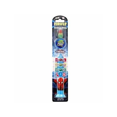 Firefly Kids! - Ready Go Light-Up Timer Toothbrush, Spiderman - 1 ea