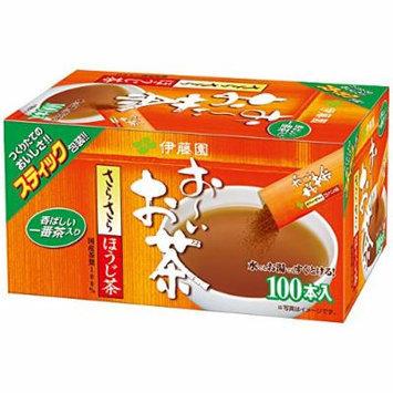 ITOEN Oi Ocha Japanese Green Tea Hojicha (Rosasted tea) Powder 100pcs
