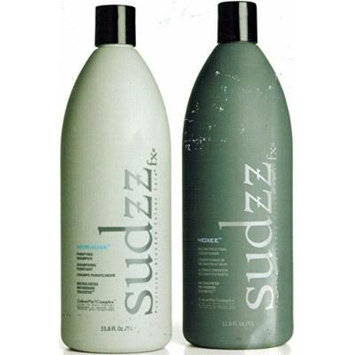 Sudzz Nyrvana Purifying Shampoo & Moxee Reconstructing Conditioner Duo Set 33.8 oz. 2 -3 month supply