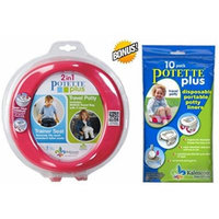 Kalencom 2-in-1 Potette Plus+ BONUS FREE 10 Pack Liner Re-Fills