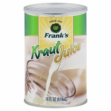 Franks Kraut Juice 14.0 FO(Pack of 6)