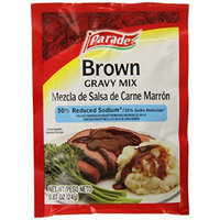 Parade Roast Brown Gravy Mix 7 Count, 8 Ounce (Pack of 24)