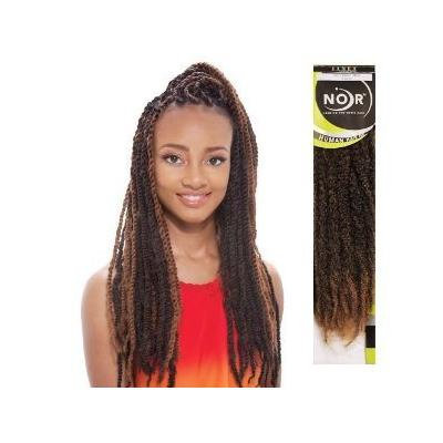 Afro Marley Braiding Hair-4 Packs-#1-Jet Black
