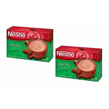 Nestlé Hot Cocoa Mix Carbselect Fat Free with Calcium (2 Boxes-16 ct) 0.28 oz packets (8g)