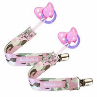 Booginhead Girl Camo PaciGrip, 2 Pack