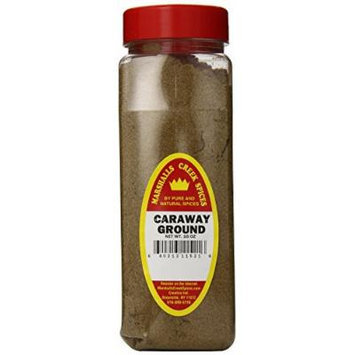 Marshalls Creek Spices Caraway Seed Seasoning, Ground, XL Size, 16 Ounce