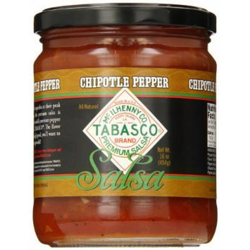 Tabasco Salsa, Chipotle, 16 Ounce