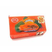 Asantee Papaya Skin Whitening Herbal Soap Thai Plus Honey 135g (Pack of 4 Pcs.)