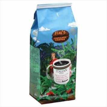 JIMS ORGANIC COFFEE COFFEE ITALIAN ROAST, 12 OZ