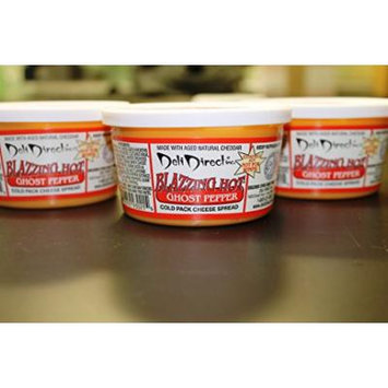 Ghost Pepper Blazzing Hot Cheese Spread (3-8oz Tubs)