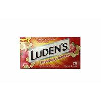 Luden's Throat Drops (Strawberry/Banana, 1 box of 20 drops)