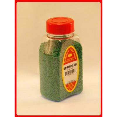 Marshalls Creek Spices Sprinkles Dark Green, 10 Ounce