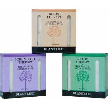 Therapeutic Mineral Bath Salt Trio Sampler Set- 3 pack- 3 oz each