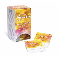 White Lion White Bamboo Organic Herbal Tea, Mango Peach, 0.27 Pound