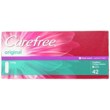 Carefree Original Long Scented, 42-count (Pack of 2)