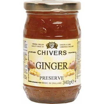Chivers UK Ginger Preserve, 12 Ounce