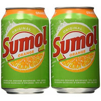 Sumol Soda Orange 11.15 oz. (Pack of 6)