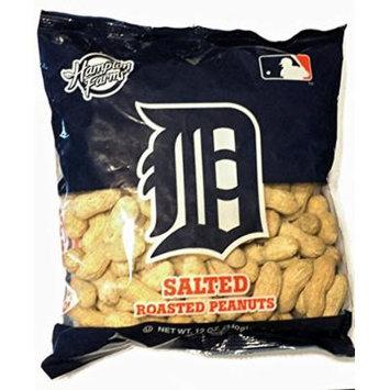 Hampton Farms Detroit Tigers Salted & Roasted Peanuts, 12 oz
