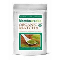 Matchathworks Matcha Green Tea Powder Culinary Grade Raw Organic, 8 oz