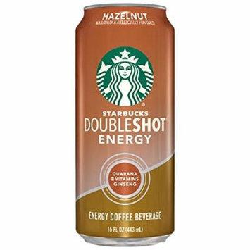 Starbucks Doubleshot Energy Drink, Hazelnut, 15 Ounce Cans, 12 Count