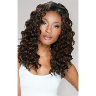 Q LOOSE DEEP LONG 5PCS - MilkyWay Que Human Hair MasterMix Weave Extensions #1B/30