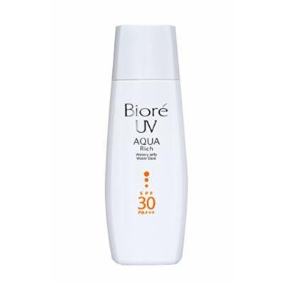 Bioré UV Aqua Rich Watery Jelly Water Base Sunscreen for Face and Body SPF 30/Pa+++