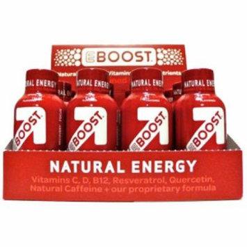 Eboost Superberry Natuarl Shot, 4-count Box