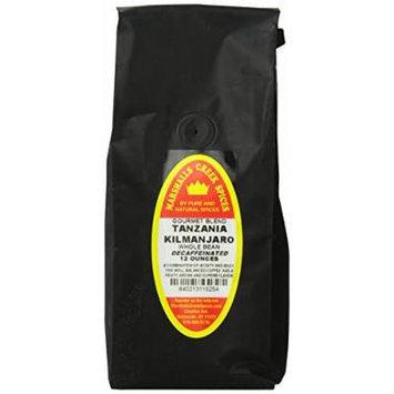 Marshalls Creek Spices Gourmet Whole Bean Decaf Coffee Bag, Tanzania Kilimanjaro, 12 Ounce