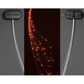 Glowbys LED Fiber Optic Light-Up Hair Barrette - Orange