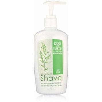 Kiss My Face Moisture Shave Shaving Cream, Key Lime Shaving Soap, 11 Ounce (pack of 4)