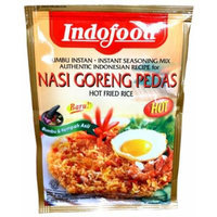 Indofood Instant Seasoning Mix Authentic Indonesian Recipe for NASI GORENG PEDAS Hot Fried Rice 1.5oz (3 Pack)
