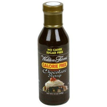Walden Farms Chocolate Flavored Syrup 12 Ounce (Pack of 6)