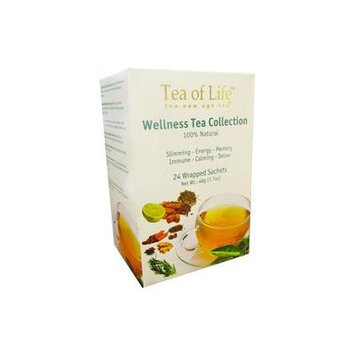 Tea of Life Wellness Tea Collection - 24 Tea Bags