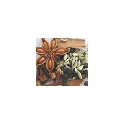 Indus Organics Chinese Five Spices Pack, 8 Oz (Star Anise, Cinnamon, Fennel Seeds, Black Peppercorn, Clove)