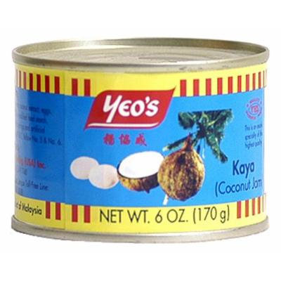 Yeo's Kaya - Coconut Jam, 6-Ounce Cans (Pack of 3)