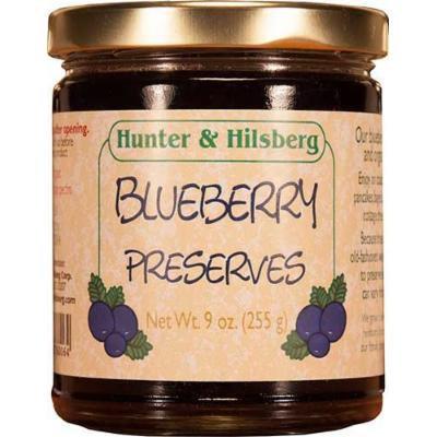 Hunter & Hilsberg Preserves, Blueberry, 9 Ounce
