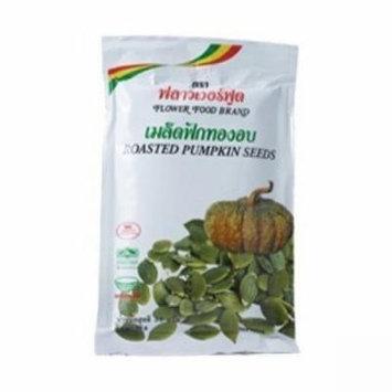 Flower Food Flavor Roasted Pumpkin Seeds 25 g. 3Pack