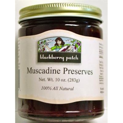 All Natural Muscadine Preserves, 10 oz